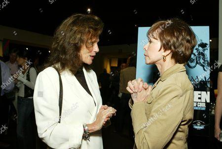 Jacqueline Bisset and Neile Adams McQueen