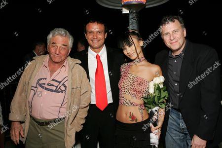 Peter Falk, Nesim Hason, Bai Ling and Paul Reiser