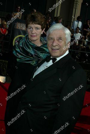Elmer Bernstein and wife