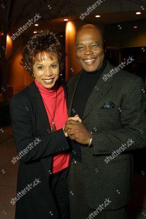 George Sanford and Lynne Moody
