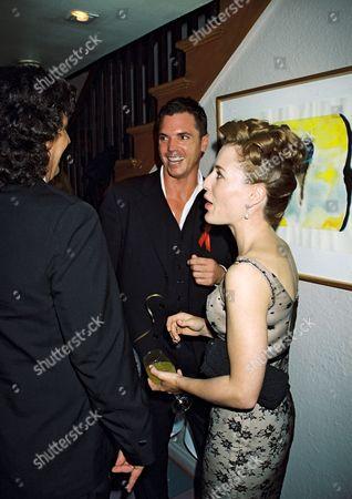 Nicholas Lea and Gillian Anderson
