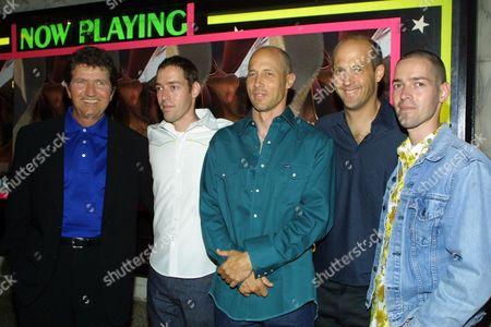 Mac Davis, Mark Polish, Jon Gries, Anthony Edwards, Mike Polish