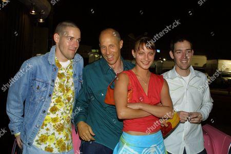 Mike Polish, Jon Gries, Camillia Clouse, Mark Polish