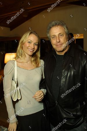 Sarah Wynter and Chuck Roven
