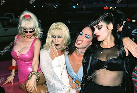 Angelyne, Candy Ass, Alexis Arquette and Nina Hagen