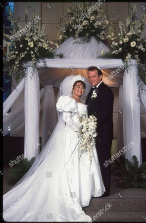 Roseanne Barr and Tom Arnold Wedding