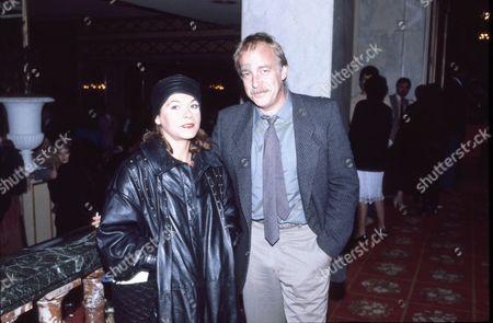 Caroline Ducrocq and Howard Hesseman