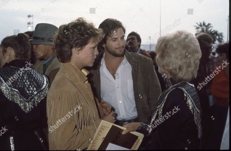 Jamie Lee Curtis, Hart Bochner and Janet Leigh