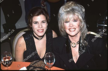 Tricia Leigh Fisher and Connie Stevens