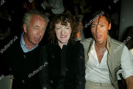 Gilles Bensimon, Glenda Bailey and Stephen Gan
