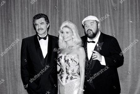 Burt Reynolds, Loni Anderson and Dom DeLuise