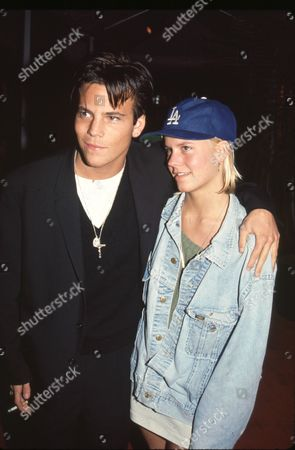 Stock Photo of Stephen Dorff, Courtney Wagner