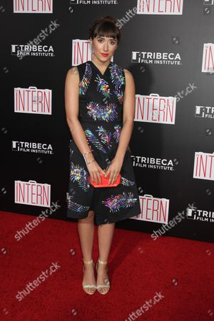 Editorial photo of 'The Intern' film premiere, New York, America - 21 Sep 2015