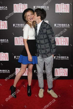 Wallis Currie-Wood and Alex Sharp