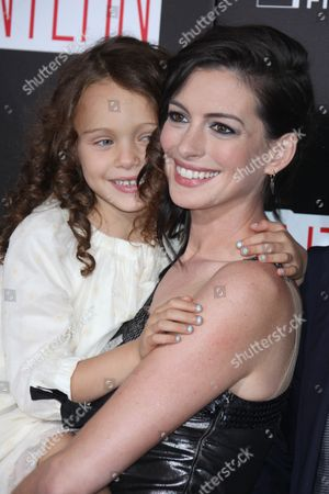 Anne Hathaway and JoJo Kushner