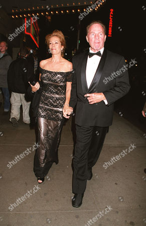 """Kathy Lee and Frank Gifford  The opening night of """"The Producers"""" at the St. James Theatre."""