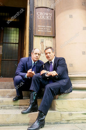DAVID DAKER AND MICHAEL ELPHICK IN 'BOON' - 1991