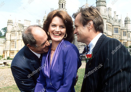 DAVID DAKER, JUDY LOE AND DAVID McCALLUM IN 'BOON' - 1990
