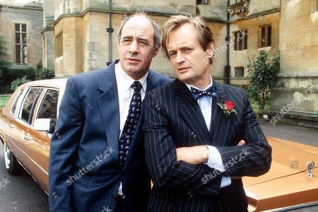 DAVID DAKER AND DAVID McCALLUM IN 'BOON' - 1990