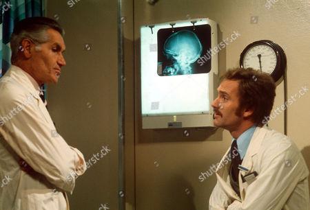 Stock Image of DAVID GARTH AND TONY ADAMS IN 'GENERAL HOSPITAL' - 1972