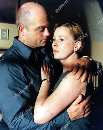 Ross Kemp and Jane Hazlegrove in 'Without Motive' - 2000