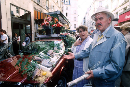 George Cole and Pat Heywood in 'Root into Europe'