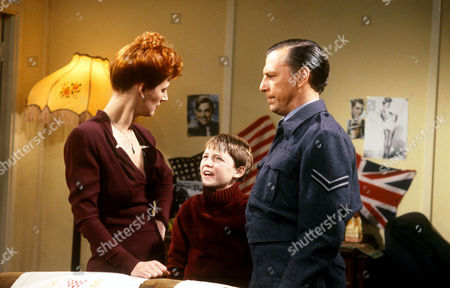 Maggie Steed, Lee Whitlock and Kenneth Cranham in 'Shine on Harvey Moon'