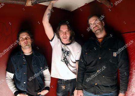 High on Fire - Des Kensel, Matt Pike and Joe Preston