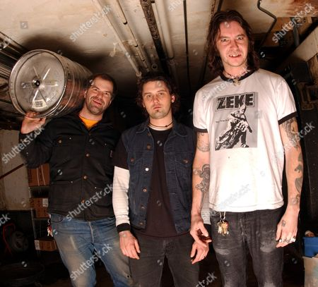 High on Fire - Joe Preston, Des Kensel and Matt Pike