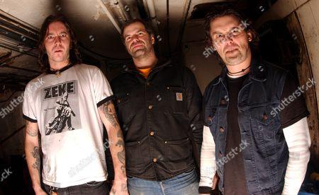 High on Fire - Matt Pike, Joe Preston and Des Kensel
