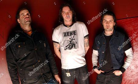 Stock Image of High on Fire - Joe Preston, Matt Pike and Des Kensel