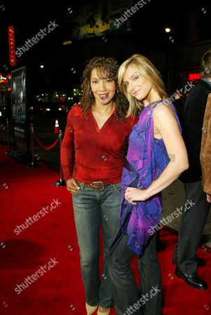 Arthel Neville and Debbie Matenopoulos