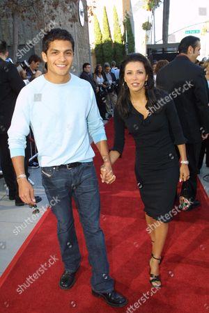 Nicholas Gonzales and Eva Longoria