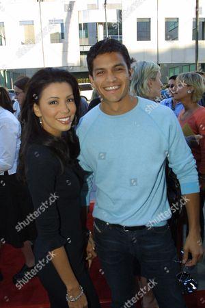 Stock Photo of Nicholas Gonzales and Eva Longoria