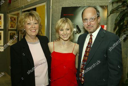 Kelly Bell, Kristen Bell and Tom Bell