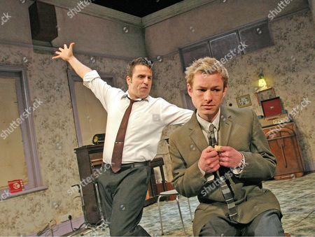 """'Telstar' - Con O""""Neill (Joe Meek) and Adam Rickitt (Heinz Burt)"""