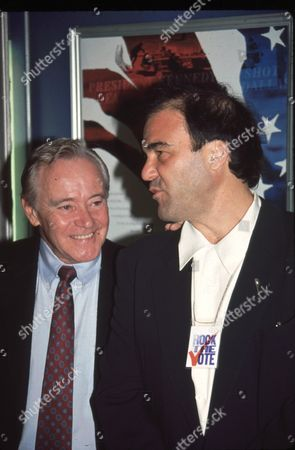 Jack Lemmon and Oliver Stone
