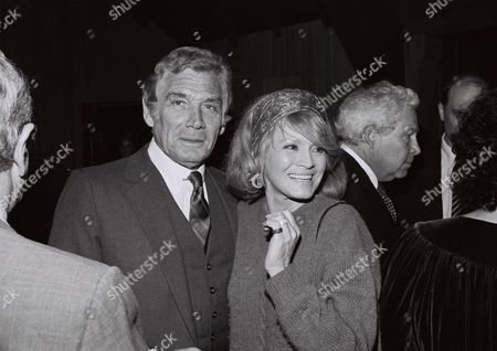 Gene Barry and Angie Dickinson