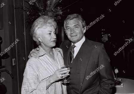 Bea Arthur and Gene Barry