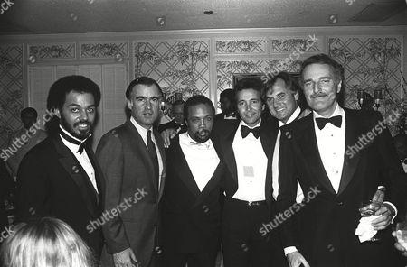 ?,Gov. Jerry Brown,Quincy Jones,Herb Alpert, ?, Jerry Moss