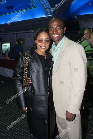 Monica Calhoun & Taye Diggs
