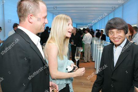 Scott Martin, Laura Lee Bell and Tadao Ando