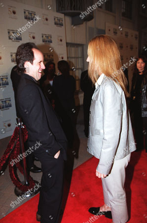 John Pankow and Helen Hunt