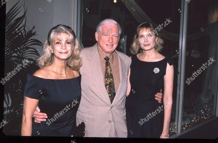 Stock Picture of Alexandra Sheldon, Sidney Sheldon & Deborah Raffin