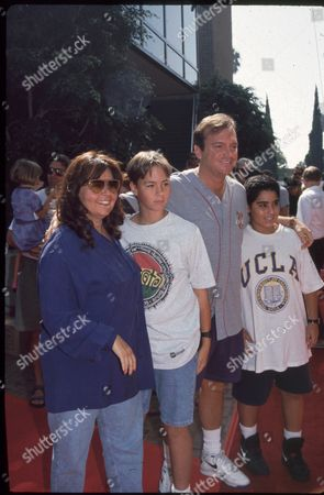 Roseanne Barr, Tom Arnold and children