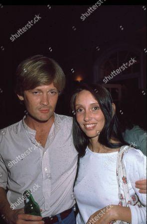 Stock Photo of Simon Ward and Shelley Duvall