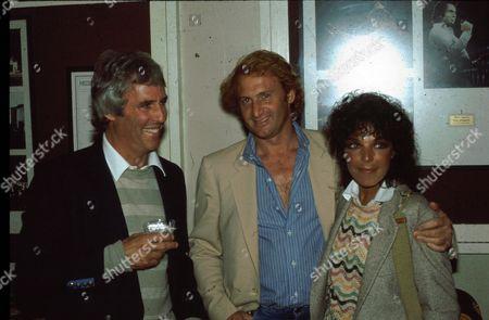 Burt Bacharach, Michael Medavoy and Carole Bayer Sager