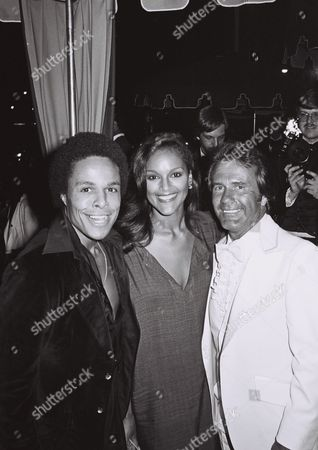 Stock Picture of Leon Isaac Kennedy, Jayne Kennedy and John Rockwell