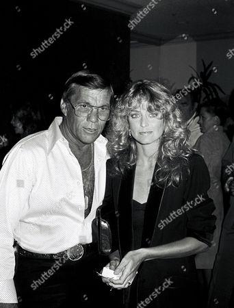 Hal Needham and Farrah Fawcett