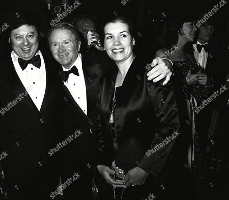 Marty Allen, Red Buttons, wife, Alicia Buttons